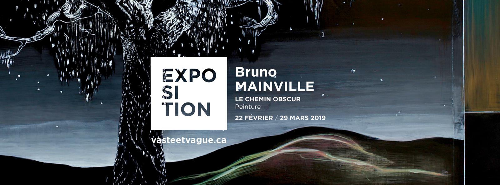 Bruno MAINVILLE | LE CHEMIN OBSCUR | Peinture