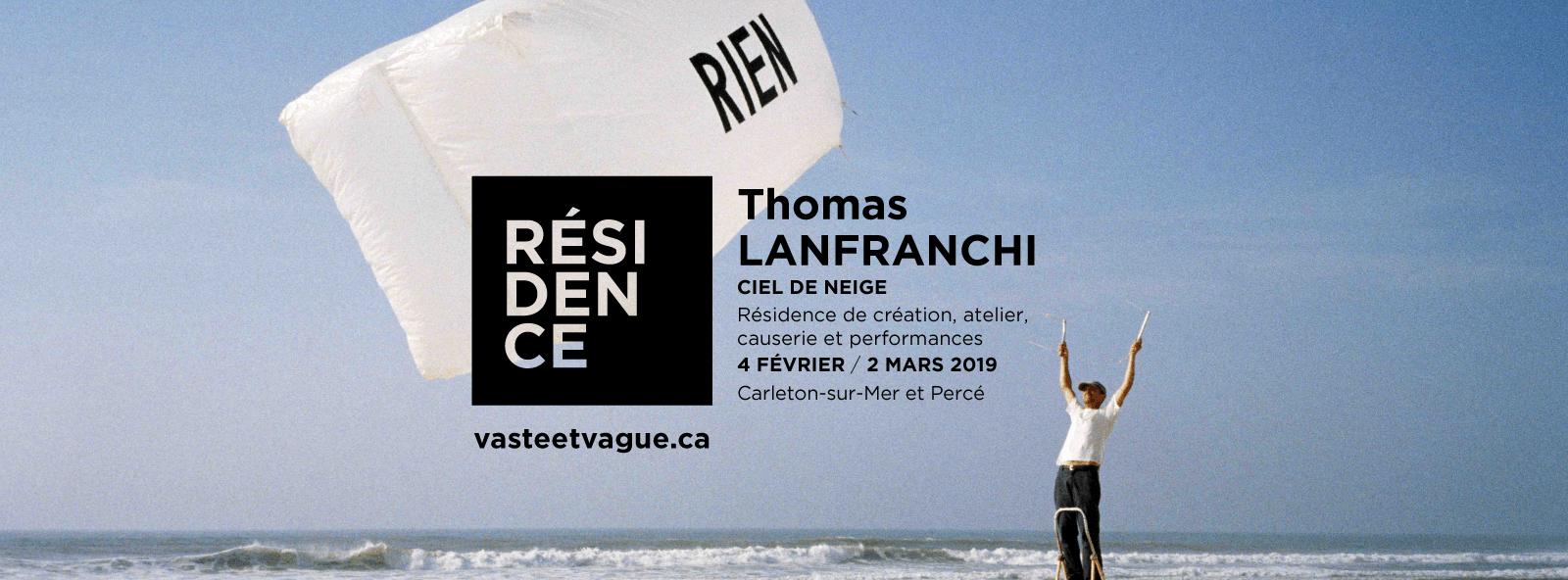 CIEL DE NEIGE | Thomas LANFRANCHI | Carleton-sur-Mer et Percé